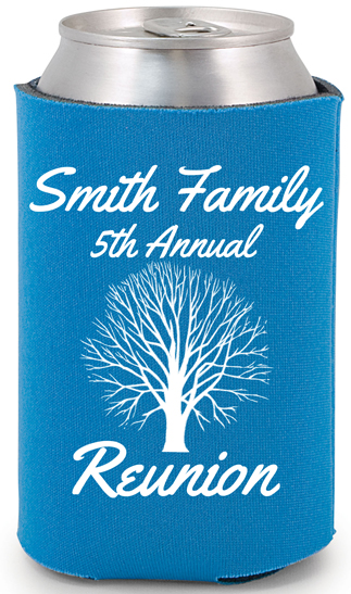 Family Reunion koozie